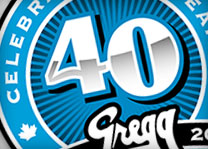 Gregg Distributors 40th Anniversary Logo Design