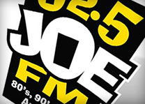 92.5 Joe FM Radio Station Logo Design