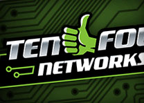 Ten Four Networks Logo Design