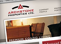Archstone Properties Website Design