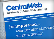 CentralWeb Website Design