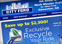 City Ford Website Design