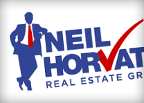 Neil Horvath Real Estate Group Logo Design