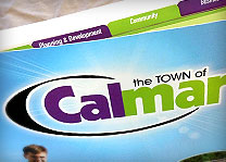 Town of Calmar Print Work