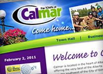 Calmar Website Design